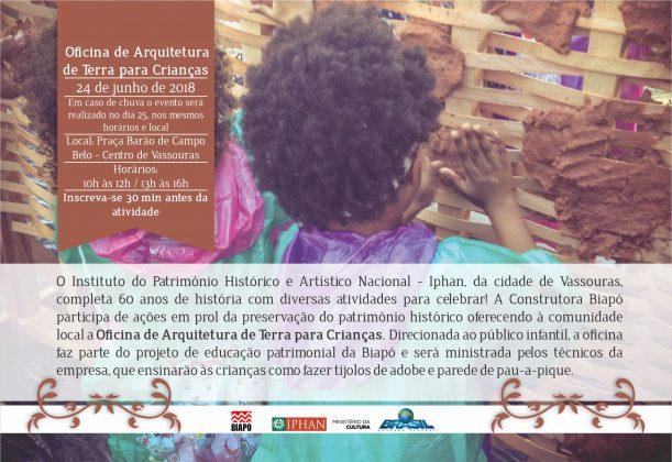 Biapó participa da comemoração dos 60 anos de história do Iphan na cidade de Vassouras
