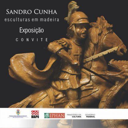 Biapó promove exposição de esculturas em madeira de Sandro Cunha